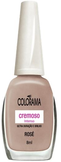 Esmalte Colorama (SAC 0800 701 0114) Rosé, R$ 2,15