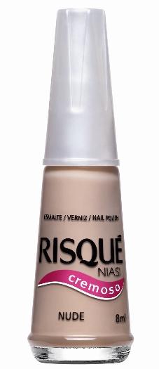 Esmalte Risqué (SAC 0800 11 11 45) Nude, R$ 2,50