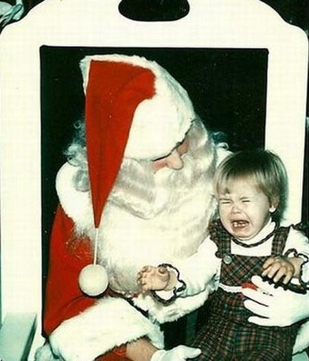 É assim que a criança começa a acreditar que Papai Noel não existe. Porque é melhor mesmo que não exista.