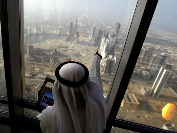 Burj Dubai AFP G