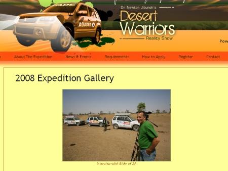 Ambientalista faz reality show no deserto do Saara - Tecnologia e ...