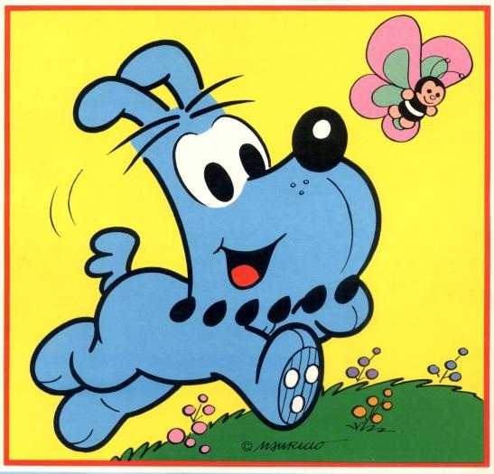 Bidu é o cão do Franjinha, da Turma da Mônica. O cachorro azul e foi inspirado na raça schnauzer. Bidu participa das histórias em quadrinhos desde 1959