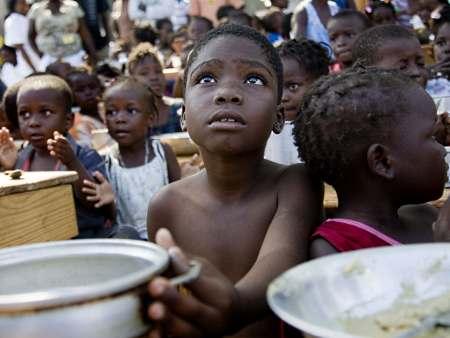 Crianças do Haiti
