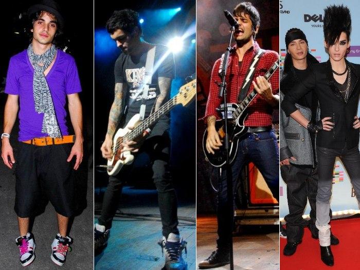 meninos rock montagem