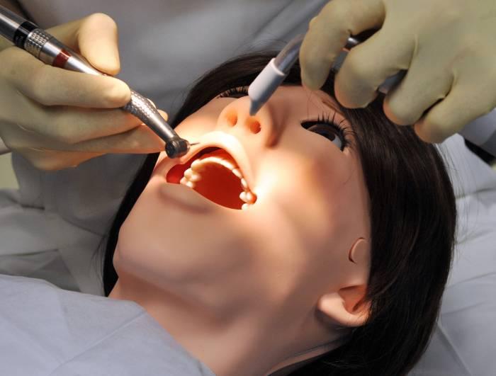 Robô Hanako dentsta