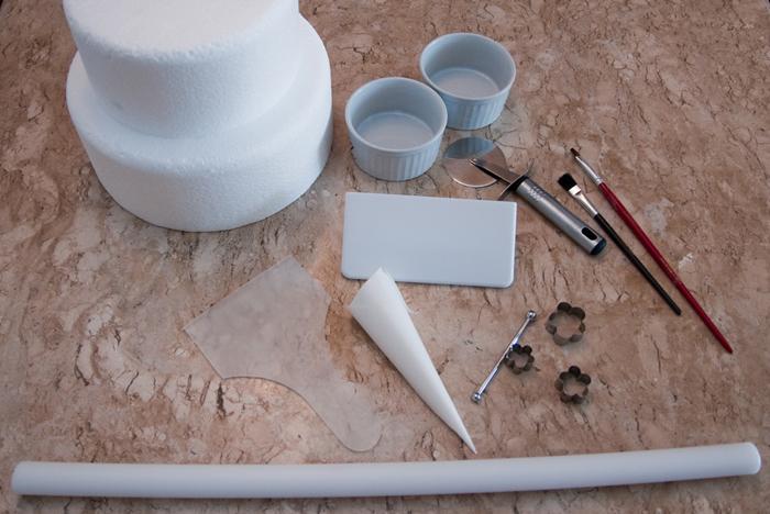 Conhecido Aprenda a fazer e a usar pasta americana para decorar bolos - Foto  CX52