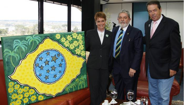 Leila Cordeiro, Lula e Eliakim Araújo