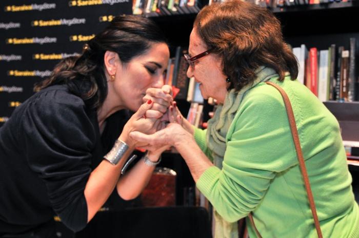 Gloria Pires e Laura Cardoso
