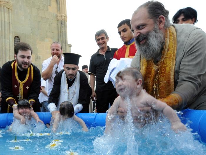 batizado coletivo