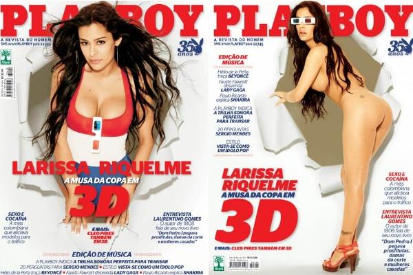 Larissa Riquelme capas Playboy