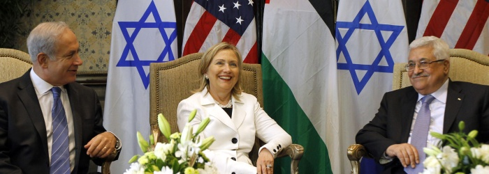 Netanyahu Abbas Clinton 700 250