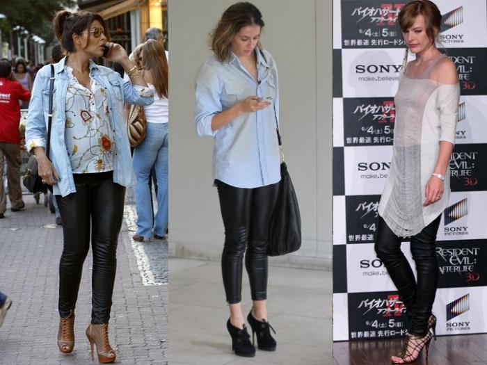 aeddc487bc88a Saiba como usar as leggings de cirré, hit entre as famosas - Moda e ...