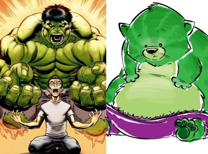 Montagem/Reprodução Marvel-Buzzfeed