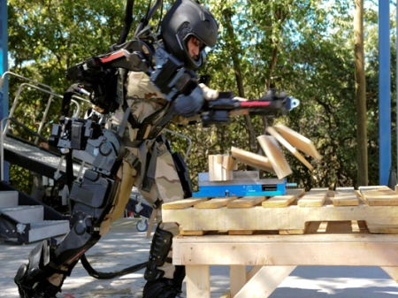 armadura, Raytheon-Sarcos, Homem de Ferro