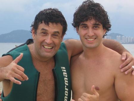 Sérgio Mallandro e Sérgio Tadeu