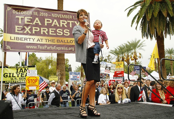 tea party sarah palin