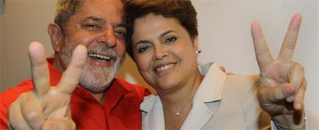 Veja imagens da vitória de Dilma Rousseff