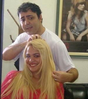 Julinho do Carmo e Geisy Arruda