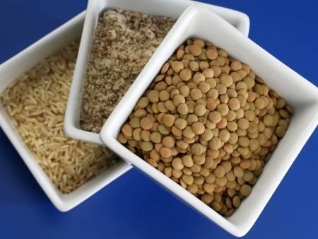 Lentilha e arroz