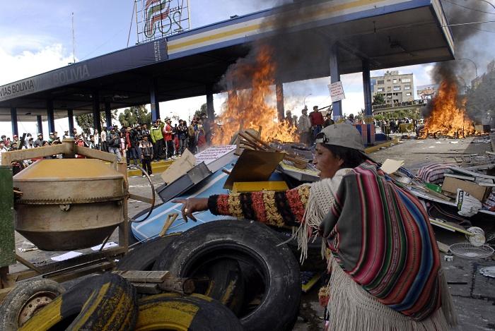 bolivia protesto posto G