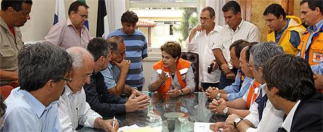 dilma reunião ministros governador