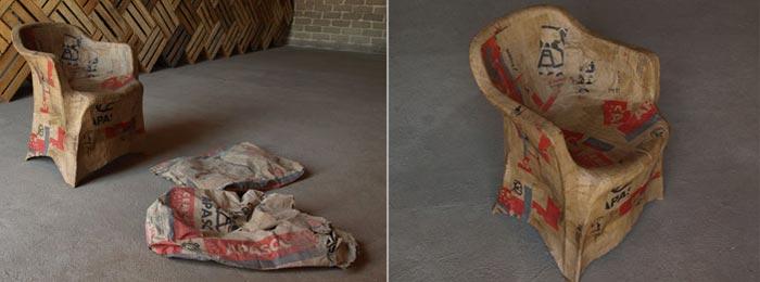 cadeira, entulho, lixo, saco, 700, 260