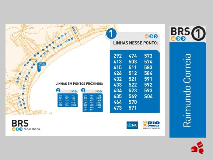 Mapa linhas de ônibus