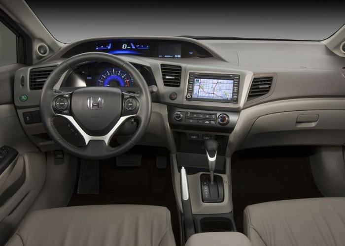 Civic interior