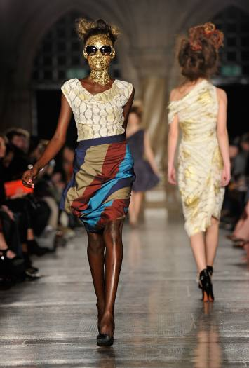DesfileVivienne Westwood Red Label inverno 2011-2012 na semana de moda de Londres