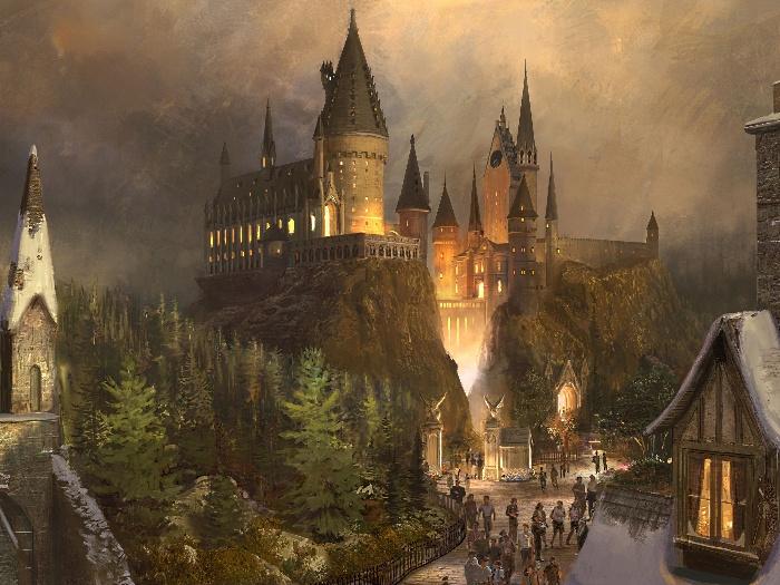 Imagens Do Novo Parque De Harry Potter Nos Eua Foto 6 Jovem R7