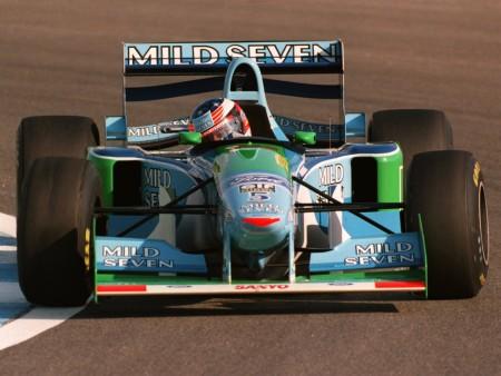 Equipe Benetton de Formula 1 de 1994 - by esportes.r7.com