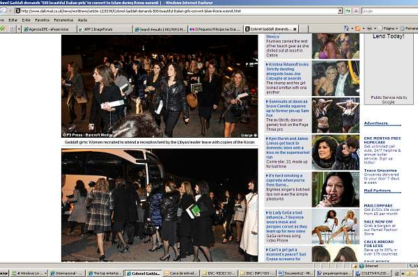 mulheres gaddafi