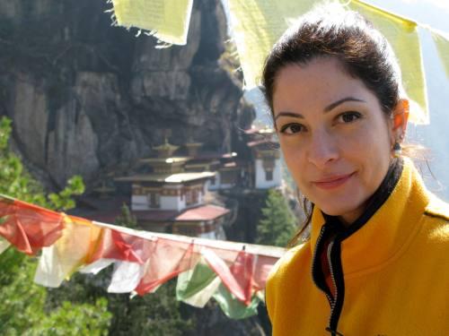 Ana Paula Padrão no Butão