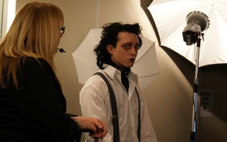 Johnny Depp - Maos de Tesoura