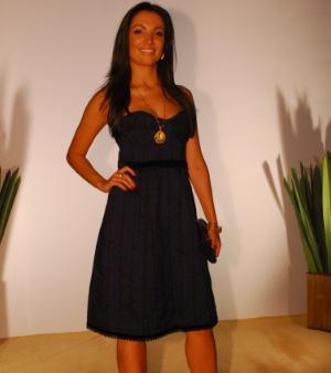 bad5686aea Inspire-se nos vestidos famosos de Patrícia Poeta - Moda e Beleza - R7