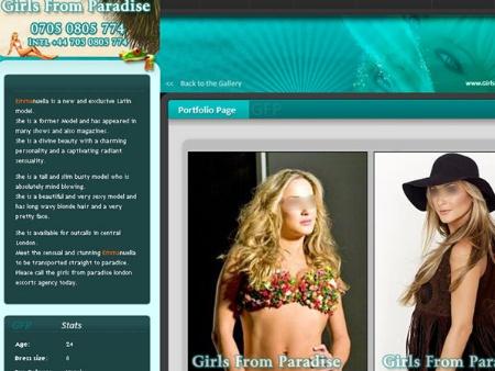 Claudia Leitte - Site Inglês