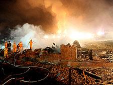 China: explosão em fábrica mata 19