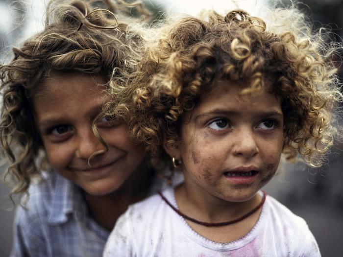 cigano, criança, roma