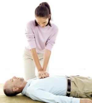 infarto, massagem cardíaca, reanimação, peito, 300 338