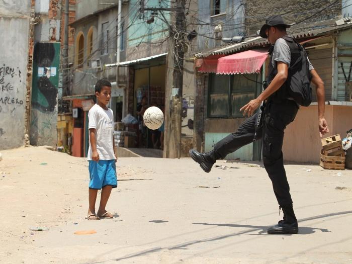 calcio nelle favelas