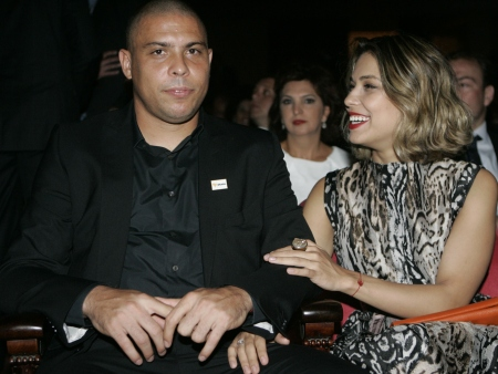 Ronaldo e Bia Anthony