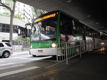 ônibus centro sp