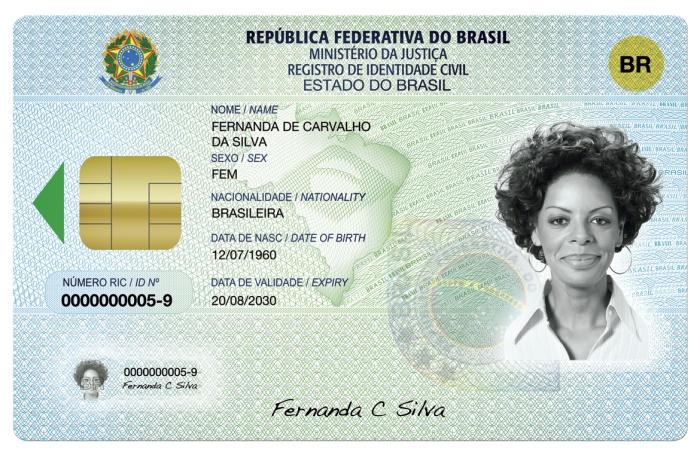 carteira de indentidade