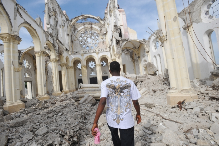 Thony Belizaire/09.01.2011/AFP