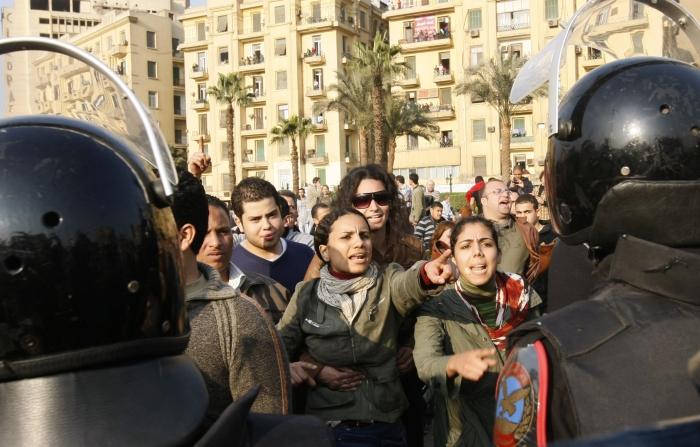 Mohammed Abed/25.01.2011/AFP
