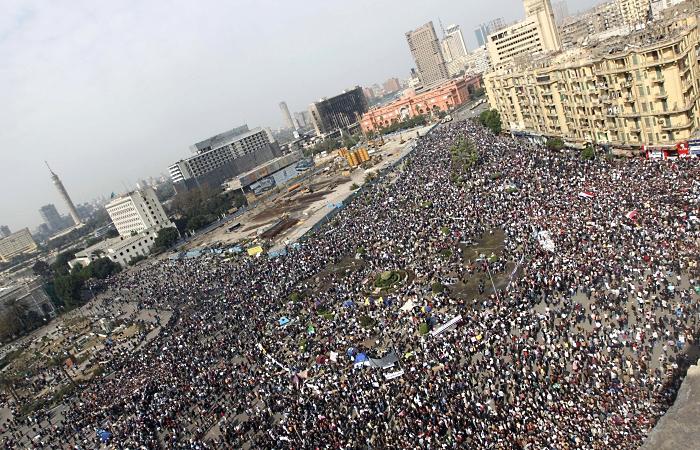 egito, praça tahrir, manifestação