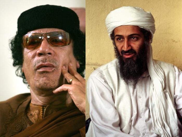 Rebeldes tomam controle de mais cidades; Gaddafi culpa Bin Laden