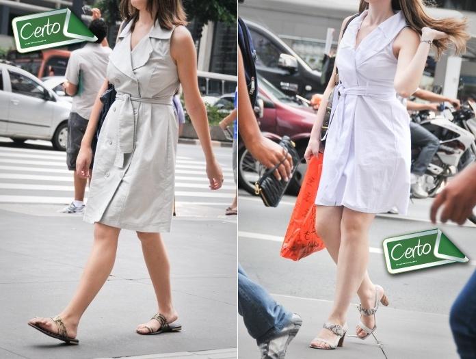 Não é tão fácil desfilar por aí com cintura marcada.Para apostar neste truqueque apareceu nas semanas de moda é preciso ter uma boa noção de estiloe con...