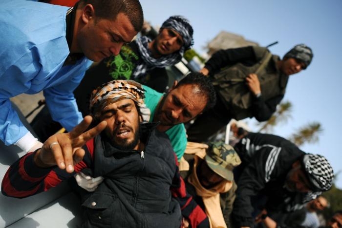 Christophe Simon/23.04.2011/AFP