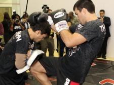 Irmão de Lyoto pede calma antes de pensar em cinturão do UFC